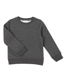 BOSS Bodywear Boys Grey Embroidered Logo Sweatshirt