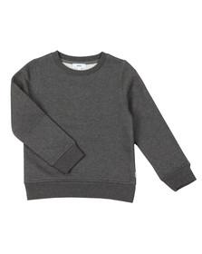 BOSS Boys Grey Embroidered Logo Sweatshirt