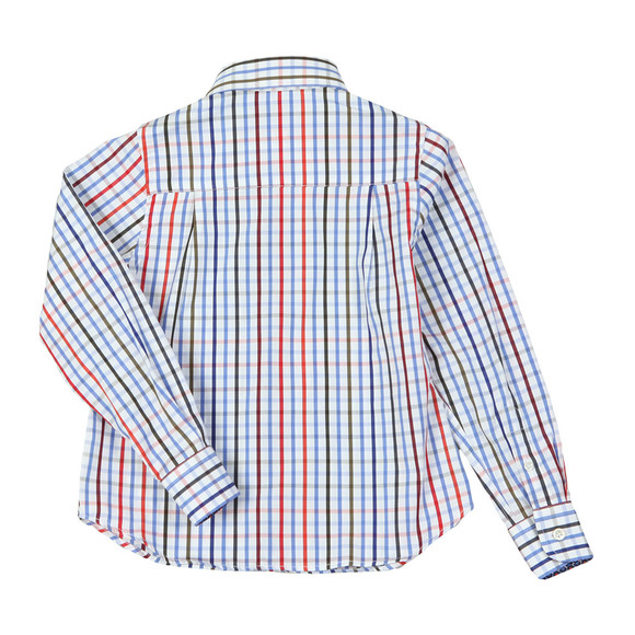 Paul & Shark Boys White Multi Check Shirt main image