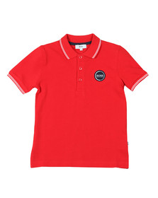 BOSS Bodywear Boys Red Circle Logo Polo Shirt
