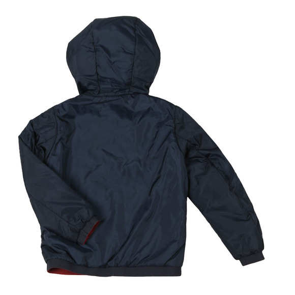 Emporio Armani Boys Blue Reversible Hooded Jacket main image