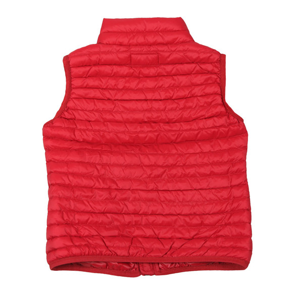 Emporio Armani Boys Red Down Gillet main image
