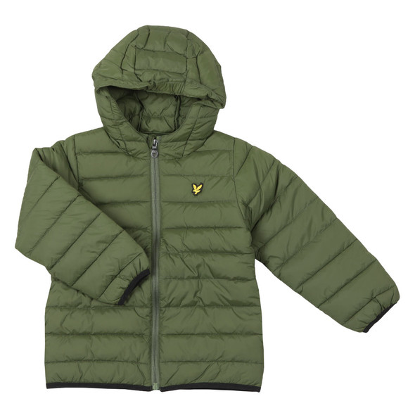 Lyle And Scott Junior Boys Green Puffer Jacket
