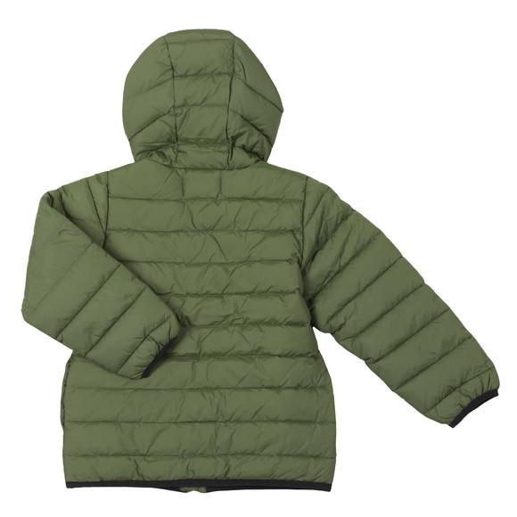Lyle And Scott Junior Boys Green Puffer Jacket