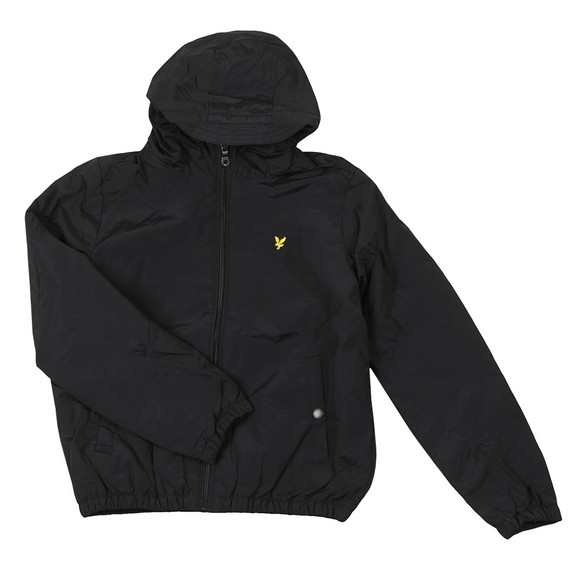 Lyle And Scott Junior Boys Black Padded Cagoule