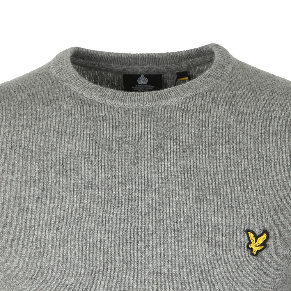 Crew Neck Lambswool Blend Jumper main image