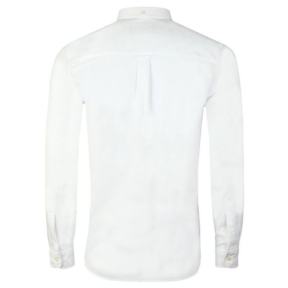 Lyle and Scott Mens White Oxford Shirt main image