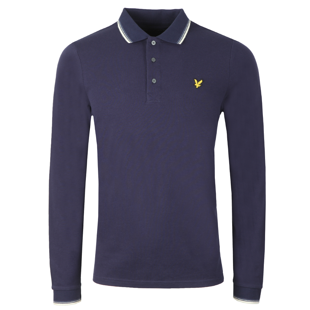 LS Tipped Polo Shirt main image
