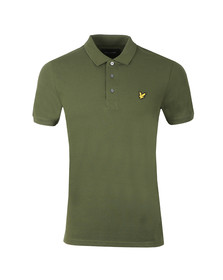 Lyle and Scott Mens Green S/S Polo