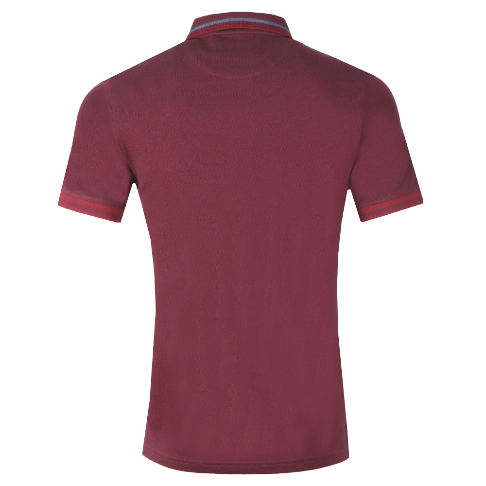 Oxford Tipped Pique Polo Shirt main image