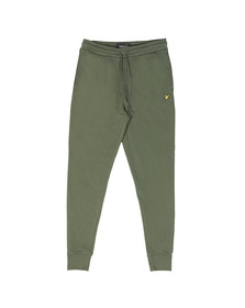 Lyle and Scott Mens Green Skinny Sweatpant