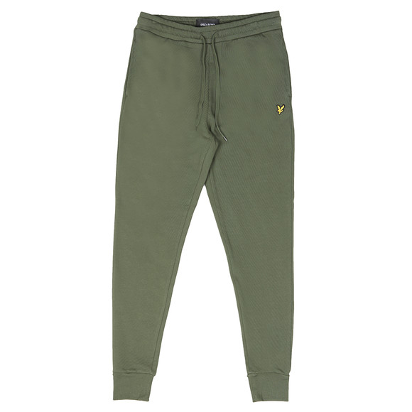 Lyle and Scott Mens Green Skinny Sweatpant main image