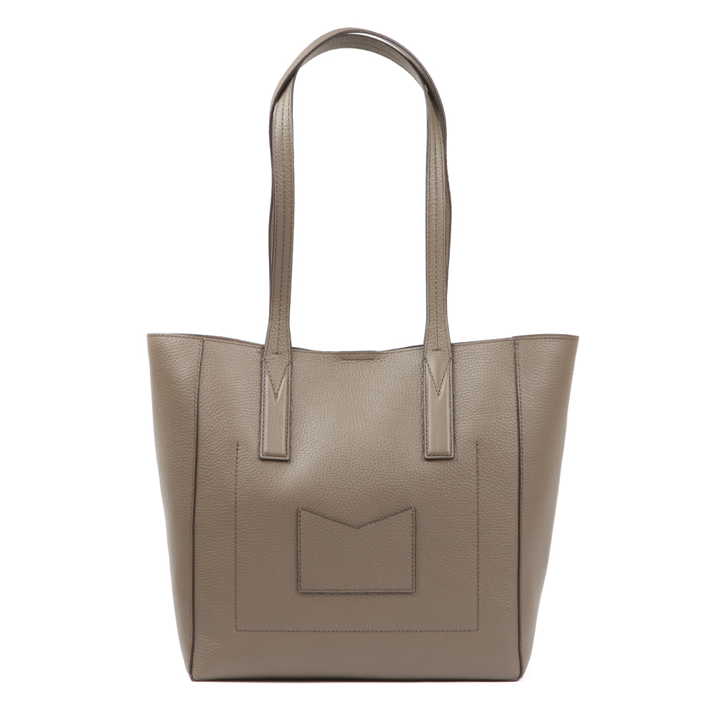 Junie Mid Leather Tote Bag main image