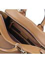 Rollins Large Pebbled Leather Satchel additional image