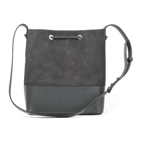 Michael Kors Womens Grey Cary Mid Bucket Bag main image