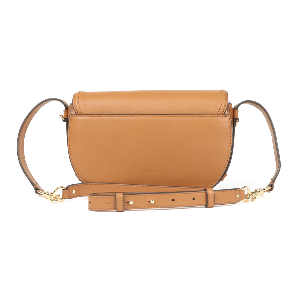 Cary Medium Leather Saddle Bag main image