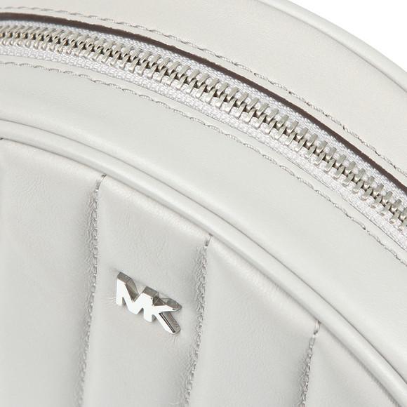 Michael Kors Womens Grey Mid Canteen Crossbody Bag main image