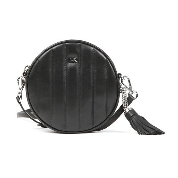 Michael Kors Womens Black Mid Canteen Crossbody Bag main image