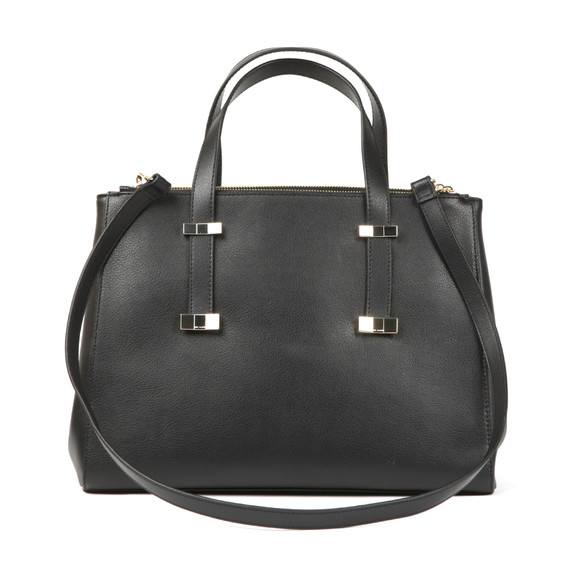 Ted Baker Womens Black Alexiis Bow Adjustable Handle Large Tote Bag main image