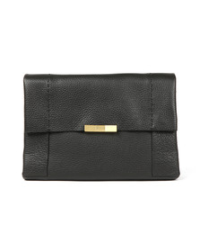 Ted Baker Womens Black Clarria Bow Detail Soft Xbody Bag