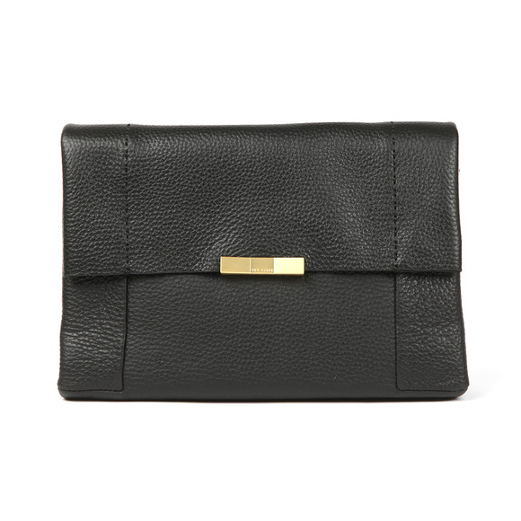 Ted Baker Womens Black Clarria Bow Detail Soft Xbody Bag main image