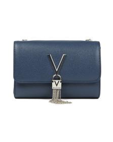 Valentino by Mario Womens Blue Divina Clutch Bag