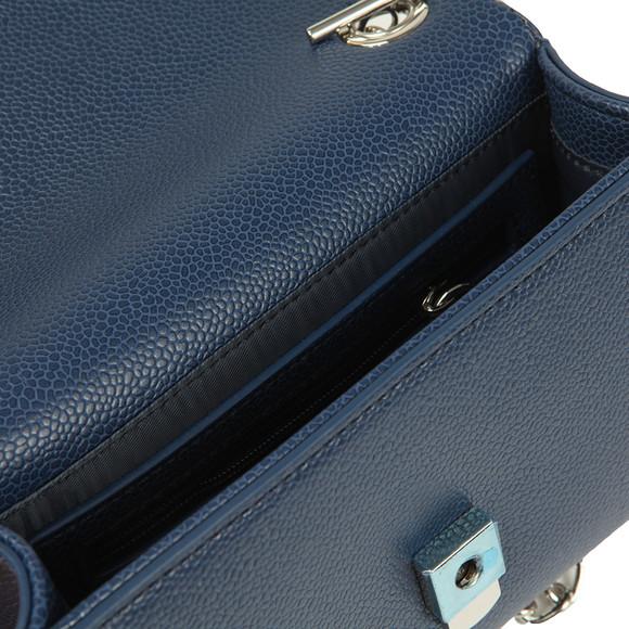 Valentino by Mario Womens Blue Divina Clutch Bag main image