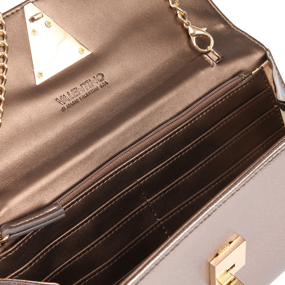Valentino by Mario Womens Brown Flash Clutch main image