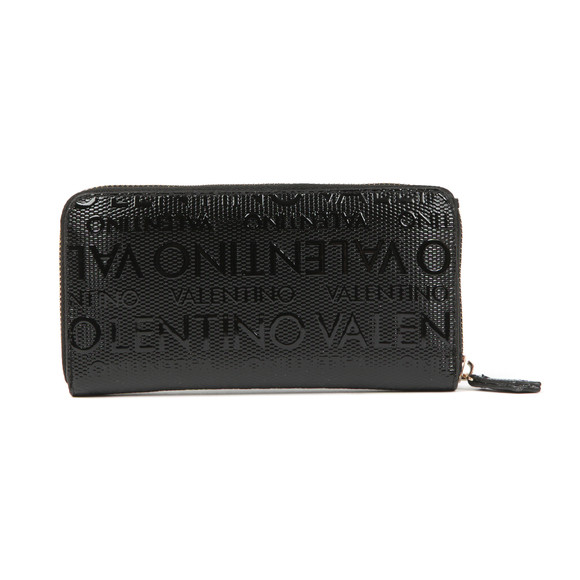Valentino by Mario Womens Black Serenity Zip Around Wallet main image