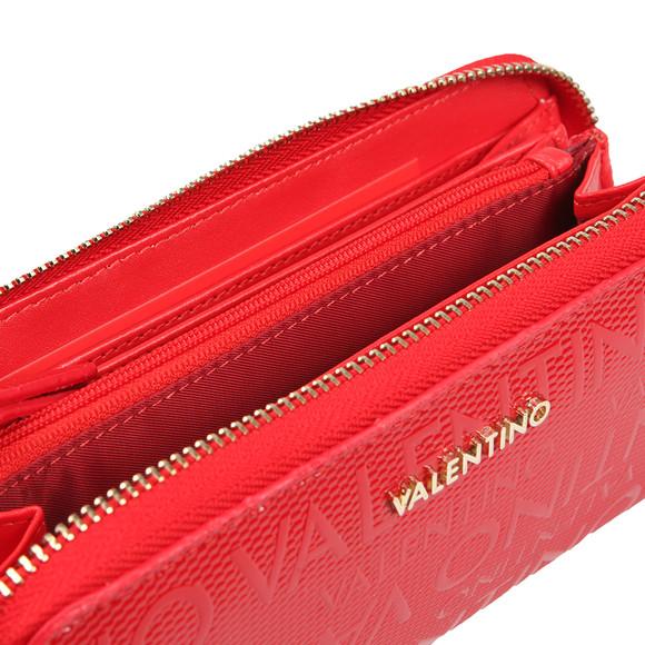 Valentino by Mario Womens Red Serenity Zip Around Wallet main image