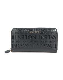 Valentino by Mario Womens Blue Serenity Zip Around Wallet