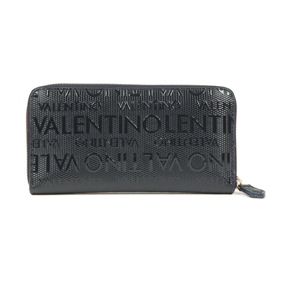Valentino by Mario Womens Blue Serenity Zip Around Wallet main image