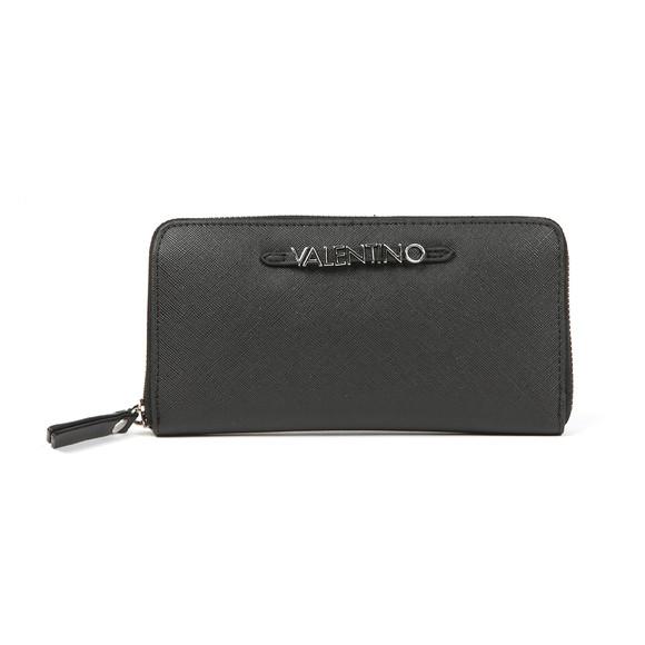 Valentino by Mario Womens Black Sea Winter Zip Around Wallet main image