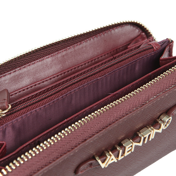 Valentino by Mario Womens Red Sea Winter Zip Around Wallet main image