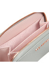 Ted Baker Womens Grey Sabel Tassel Zip Around Small Purse