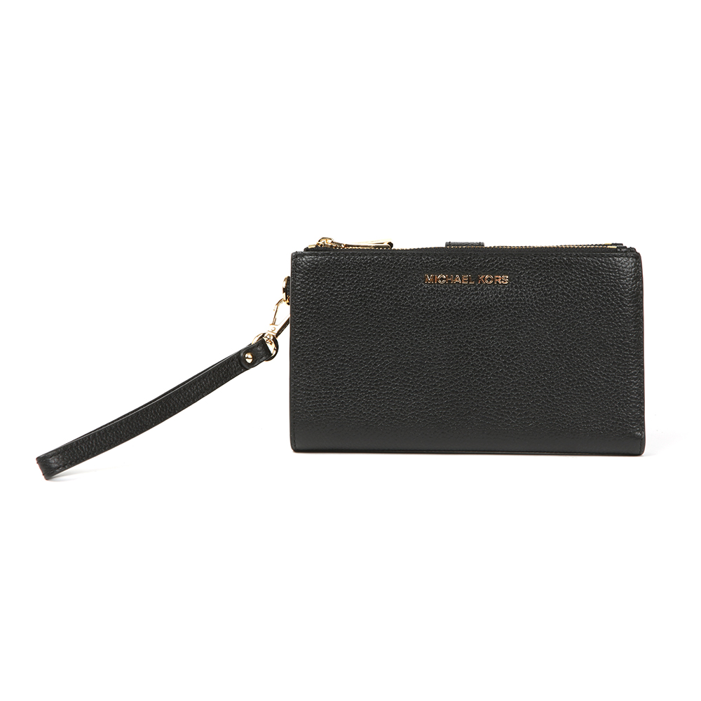 Mercer Pebble Double Zip Wristlet Purse main image