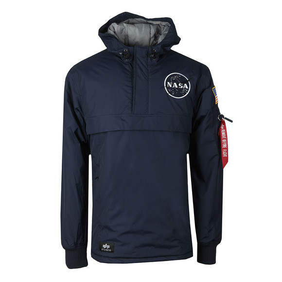 Alpha Industries Mens Blue Nasa Anorak main image