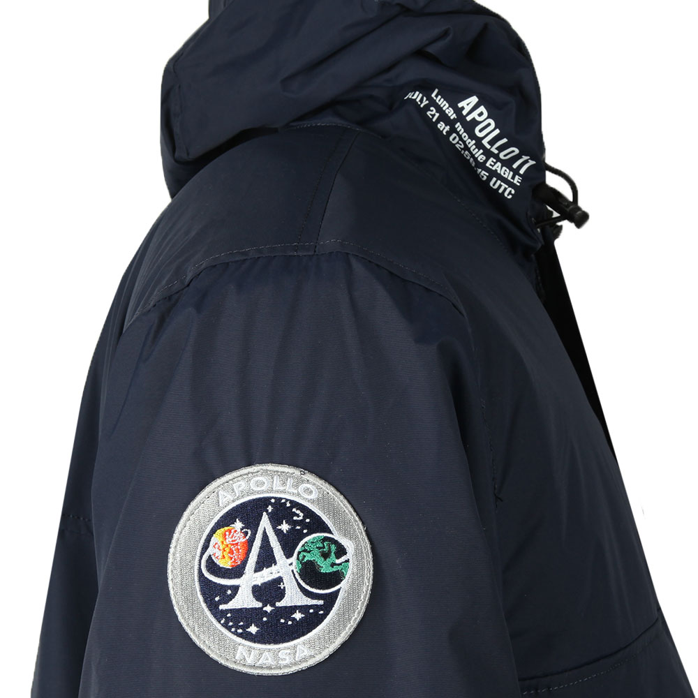 2f2c9d08c Mens Blue Nasa Anorak