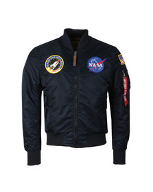 Alpha Industries Mens Blue MA1 Nasa Jacket