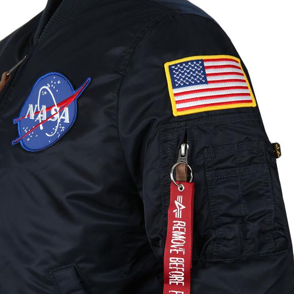 Alpha Industries Mens Blue MA1 Nasa Jacket main image