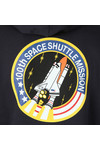 Alpha Industries Mens Blue Space Shuttle Hoody