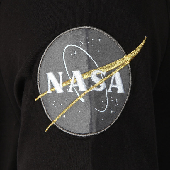 Alpha Industries Mens Black Nasa T Shirt main image