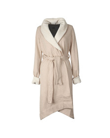 Ugg Womens Beige Duffield II Dressing Gown