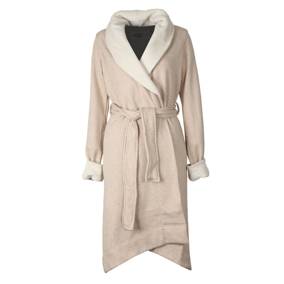 Ugg Womens Beige Duffield II Dressing Gown main image