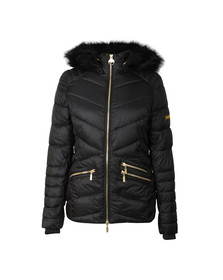 Barbour International Womens Black Turbo Quilted Jacket