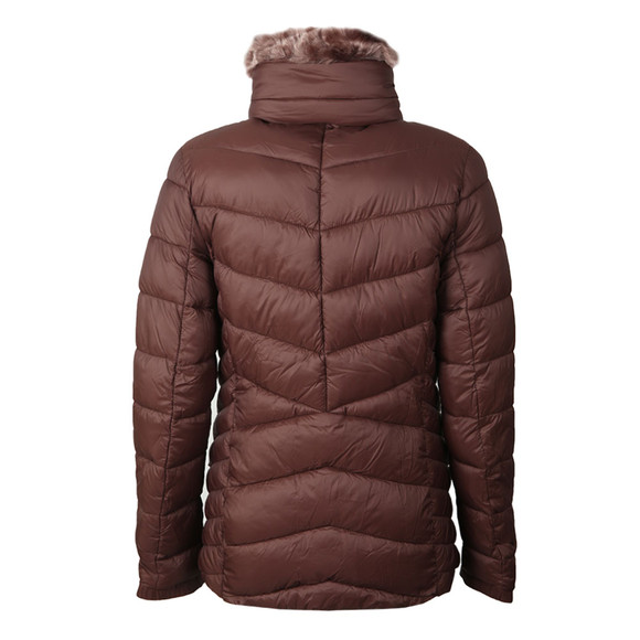 Barbour International Womens Brown Autocross Quilted Jacket main image