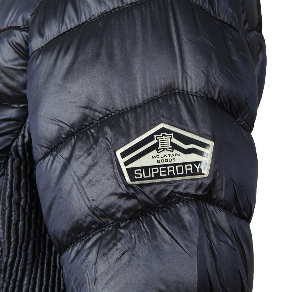 Hooded Luxe Chevron Fuji Jacket main image