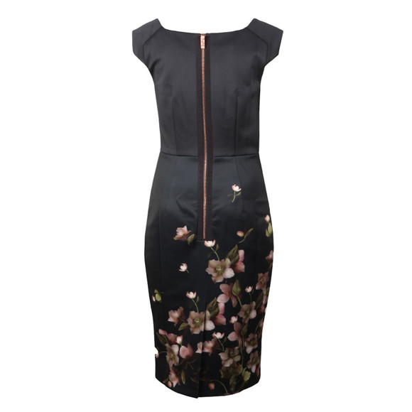 Ted Baker Womens Blue Hilldi Arboretum Pencil Dress main image