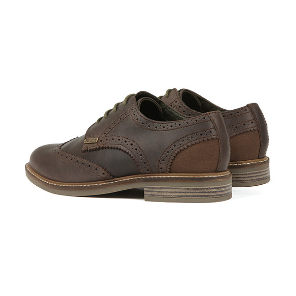 Barbour Lifestyle Mens Brown Bamburgh Brogue Shoe main image