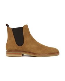 H By Hudson Mens Brown Adlington Suede Boot
